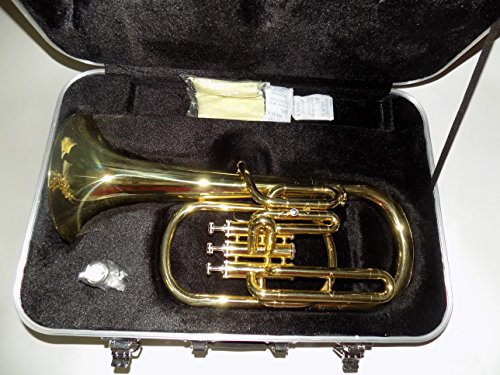 Eb Key Alto Horn Trumpet 3 Pistons Brass Body