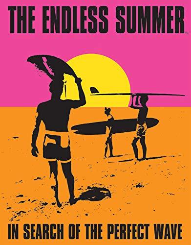 Endless Summer Tin Sign - Desperate Enterprises The Endless Summer Poster Tin Sign, 12.5