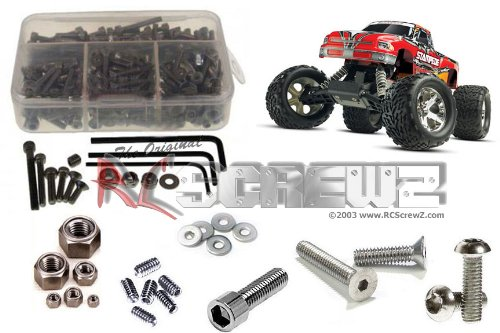 RCScrewZ Traxxas Stampede RTR Stainless Steel Screw Kit #tra005