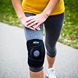 Knee-Brace-Support-For-Arthritis-ACL-Running-Basketball-Meniscus-Tear-Sports-Athletic-Open-Patella-Protector-Wrap-Neoprene-Non-Bulky-Relieves-Pain-Best-Braces-by-Winzone