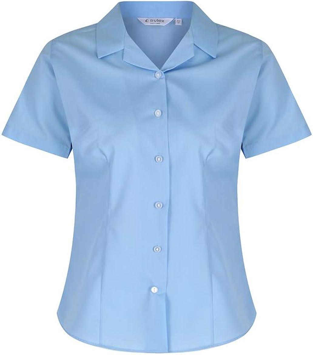 School Uniform 365 Trutex Girls Fit Cotton V-Neck Jumper