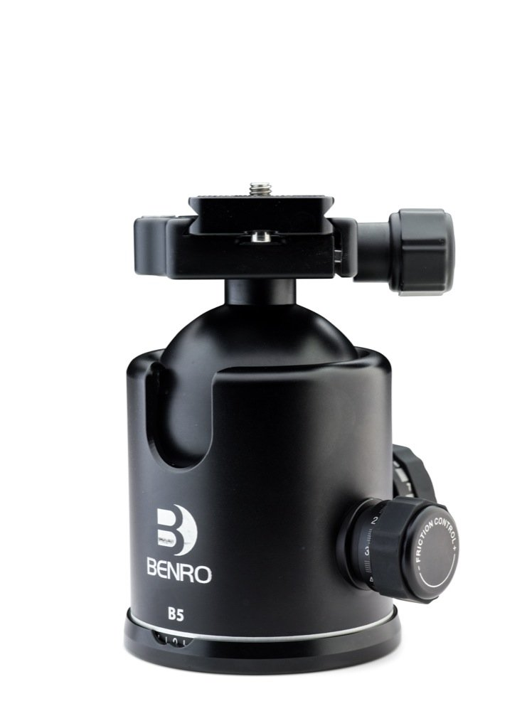 Benro Triple Action Ball Head w/ PU85 Quick Release Plate (B5)