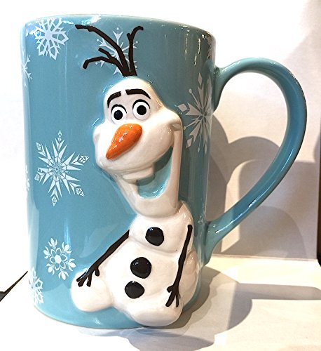 Disney Parks Olaf from Frozen 3D Mug Do You Want to Build a Snowman NEW