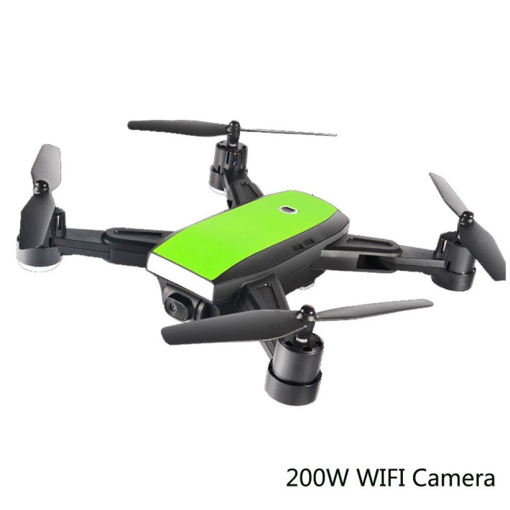 GPS RC Faltbare Drohne Quadcopter Weitwinkel 200 Watt 170 ° Weitwinkel HD WIFI Kamera Höhe Halten Intelligente Batterie Flugzeug MINI DRONE,3Batteries