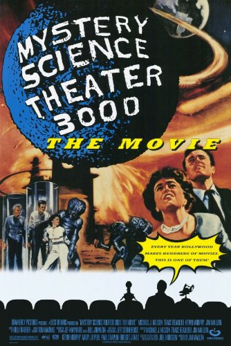 Mystery Science Theater 3000 - Movie Poster - 11 x 17 ()