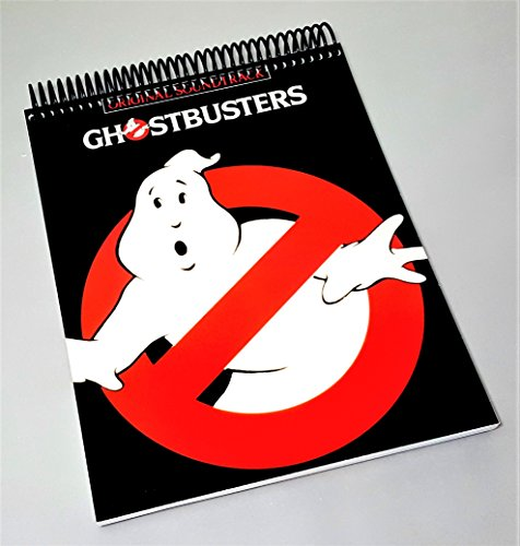 0a61deac7 Original Ghostbusters - Ghostbusters Soundtrack - Spiral Tablet Notebook -  Comedy Movie - Funny Movie Merchandise - Horror Movie Gifts - Gift For  Horror ...