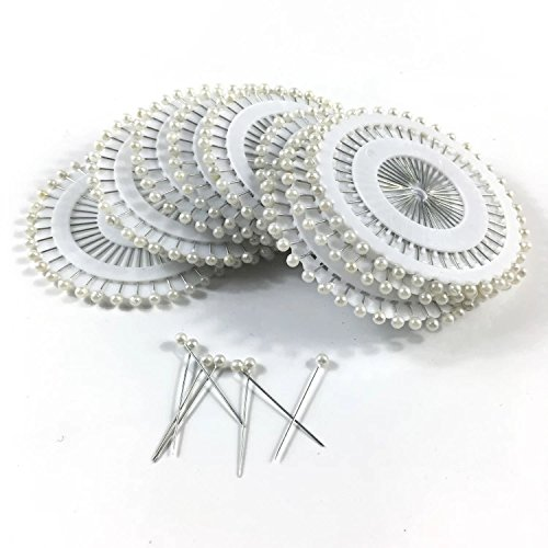 Aspire 960PCS Ball Head Pins Straight Quilting Pins for Dressmaking Jewelry Sewing Projects