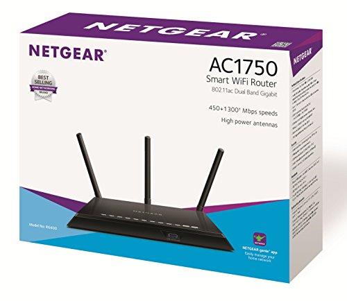 NETGEAR R6400-100UKS AC1750 (802 11ac) Dual Band Gigabit