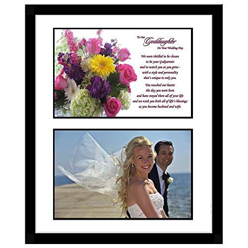 Wedding Gift for Goddaughter from Godparents - Sweet Poem...