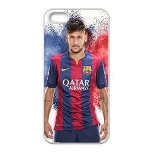 Neymar Jr Z7V86E8PY funda iPhone 5 5s caso funda XGO34G blanco