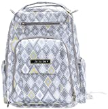 Ju-Ju-Be Be Right Back Backpack Diaper Bag, Silver Ice