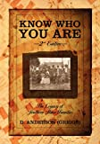 Know Who You Are, D. Anderson, 1432773739