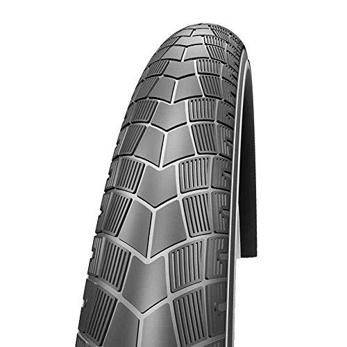 Schwalbe Big Apple HS 430 Performance RaceGuard Cruiser Bicycle Tire - Wire Bead (Reflex - 26 x 2.35)