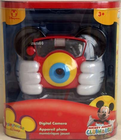 Playhouse Disney Mickey Mouse Clubhouse Digital Camera by Disney's Mickey Mouse Digital Camera