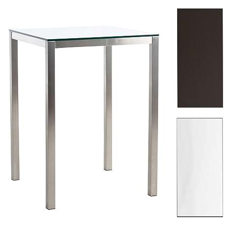 CLP Tavolo da appoggio ALFIE in acciaio inossidabile, tavolino ...
