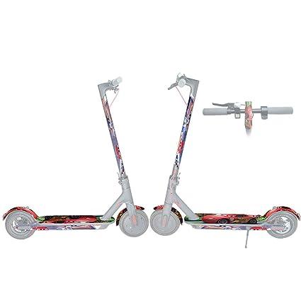 SMILEQ Etiqueta engomada eléctrica Scooter Kit Impermeable ...