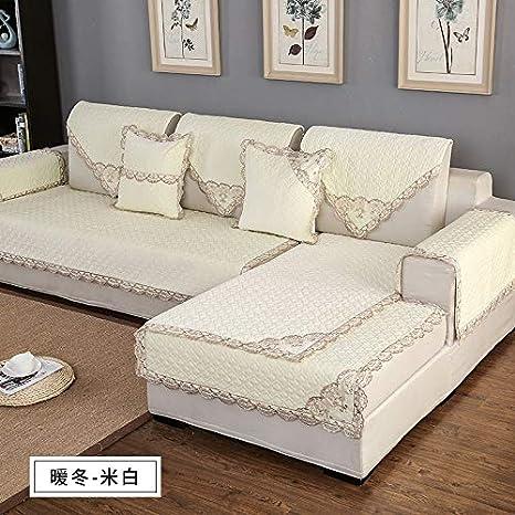XsSFT Funda de sofaToalla con Funda de sofá Felpa Simple ...