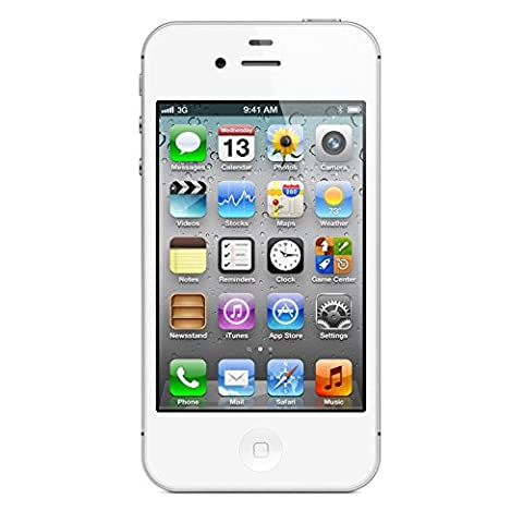 Apple iPhone 4S 8GB Unlocked GSM Cell Phone w/ Siri and iCloud - White (Prepaid Iphones Boost Mobile)