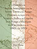 A History of the Italian Immigrants from the Seven Towns of the Asiago Plateau in the Region of the Veneto in Italy on the Gogebic Iron Range of Michigan and Wisconsin from the 1890s to the 1950s