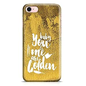 Loud Universe iPhone 8 Case Baby You And Me Are Golden Slim Profile Light weight Wrap Around iPhone 8 Cover