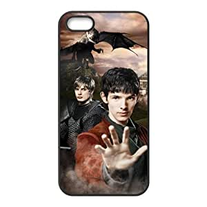 Merlin New Style Design Faishion PC Case Protective Skin For Iphone 5s iphone5-90653