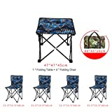 Folding Camping Chair with Back, Portable Folding Stool 600d Oxford Outdoor Folding Chair with Carry Bag Fishing Travel Hiking Picnic Beach Quickly Fold Chair Stool-l