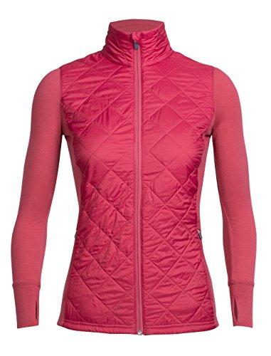 Icebreaker chaqueta de las mujeres de la elipse Cover Ups Wild Rose