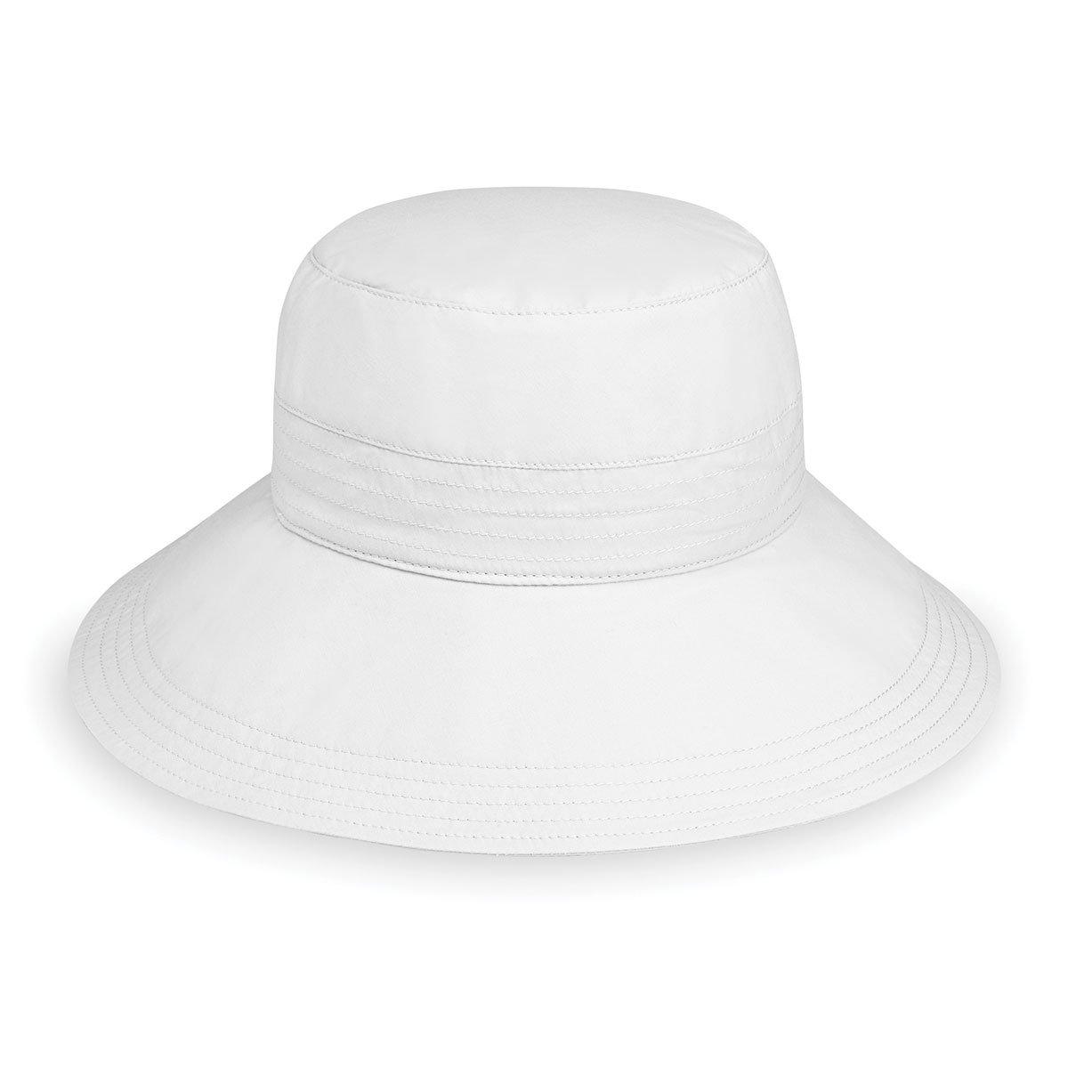83f67b9cef8 Wallaroo Women s Piper Hat - UPF 50+ - Packable - One Size (Beige)   Amazon.co.uk  Clothing