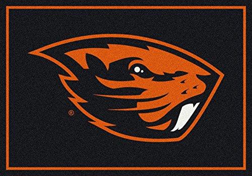 NCAA Team Spirit Rug - Oregon State Beavers, 5'4'' x 7'8'' by Millilken