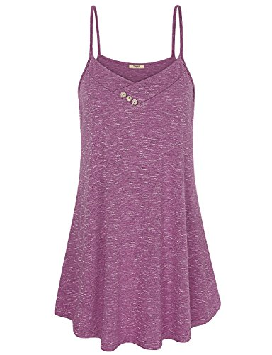 Timeson Womens Summer Solid Spaghetti product image