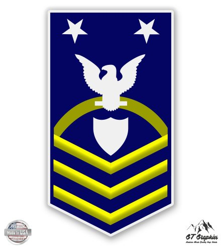 Rank Guard Officer Coast (USCG US Coast Guard SCPO COmmand Master Chief Petty Officer E-9 Rank - 3