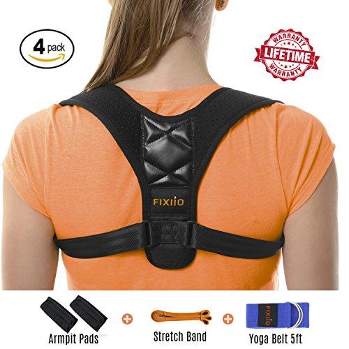 Back Posture Corrector for Women - and Men - Adjustable Back