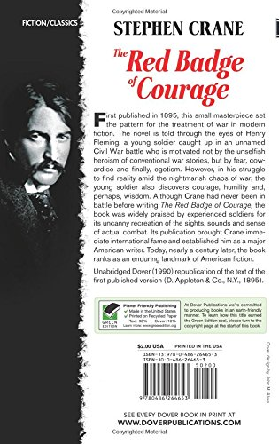 red badge of courage essay isolation