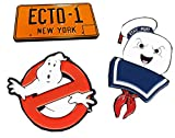 Ghostbusters Enamel Pin 3-Pack Set: No Ghosts, Stay