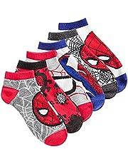 Boys' 6-Pk. Spiderman Socks Size 6-8.5