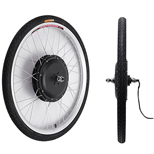 48V/1000W 26'' Front Wheel Bicycle Power-driven Refit Kit by YIXian (Image #3)