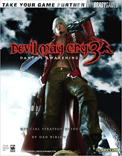 [Artbook] Devil may Cry 3 Dante's Awakening Official Strategy Guide