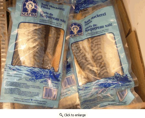 Seaprosalted, Pickeled Mackerel Fillets, Five 12oz. (Mackerel Fillets)