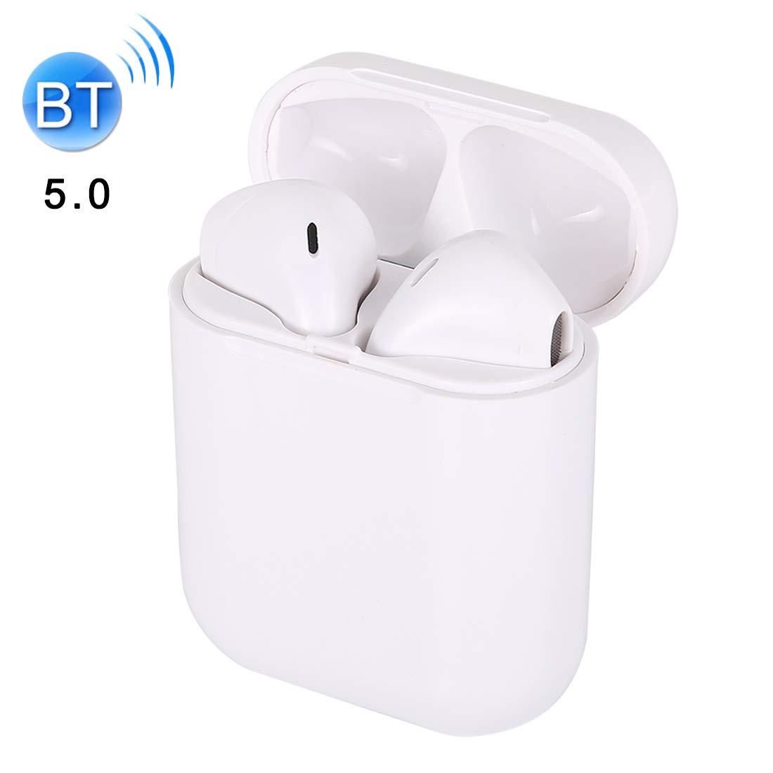 I9S-TWS Bluetooth V5.0 ワイヤレスステレオイヤホン 磁気充電ボックス付き iSO & Android Xone Alexander対応   B07PDMF9BT