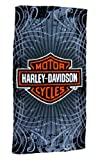 Harley-Davidson Vibe Velour Beach Towel 30 in. X 60 in.