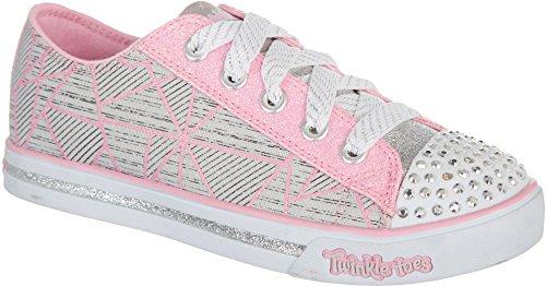 skechers-girls-twinkle-toes-sparkle-glitz-shoes-12-grey-multi