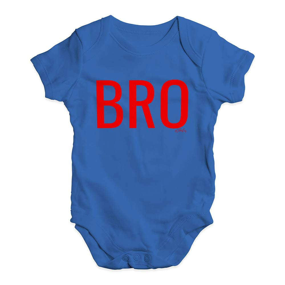 TWISTED ENVY Cute Infant Bodysuit Bro Brother