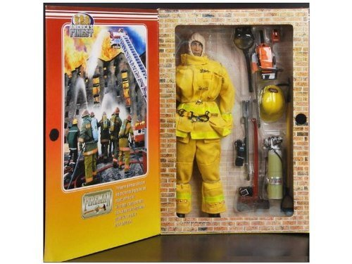 21st Century Toys Ultimate Soldier America's Finest Fireman (Caucasian) -