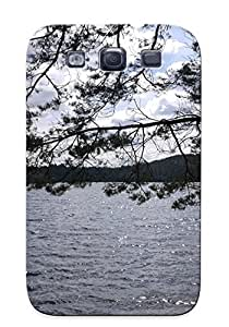 Crazinesswith Case Cover For Galaxy S3 - Retailer Packaging Sunny Day At The Lake Protective Case