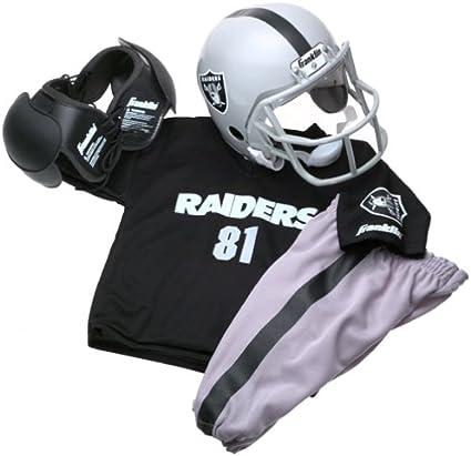 Franklin Sports Oakland Raiders Kids/Youth Football Helmet Uniform Set