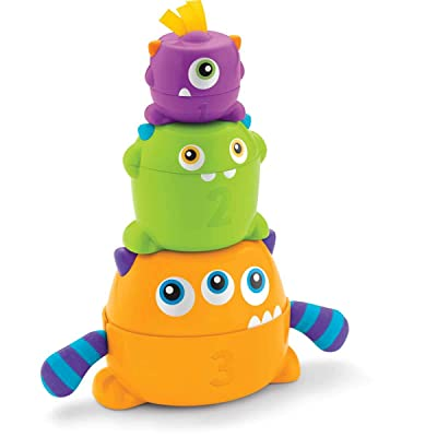 Fisher-Price Stack & Nest Monsters: Toys & Games