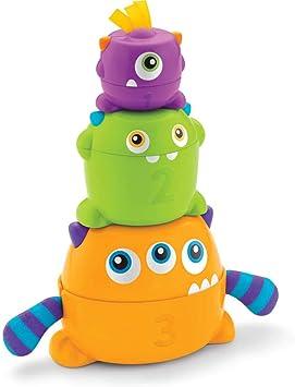 Oferta amazon: Fisher-Price - Monstruitos encajables, Juguete bebé (Mattel FNV36)