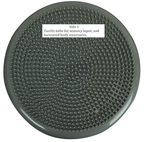 2 Pack Inflated Stability Balance Disc, Including Free Pump Bulk Packaging