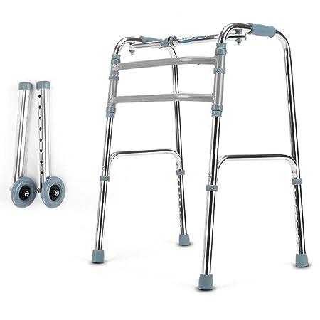 LIQIN Rehabilitación Andador Reposabrazos de Aluminio ...