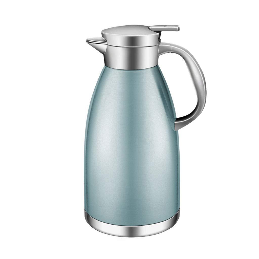 WLHW Trinkflaschen Vakuumkrug-Isolierungs-Topf, rostfreier Stahl 1.8L Kaffee-thermischer Karaffen-doppelter Wand-Saft-Milch-Tee-Topf